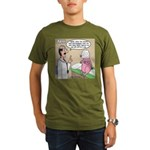Pig Plastic Surgery Organic Men's T-Shirt (dark)