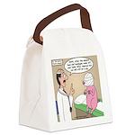 Pig Plastic Surgery Canvas Lunch Bag