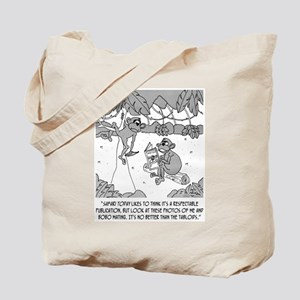 Monkeys in the Tabloids Tote Bag