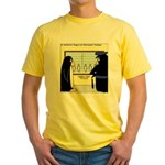Penguin Police Lineup Yellow T-Shirt