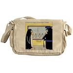 Penguin Police Lineup Messenger Bag