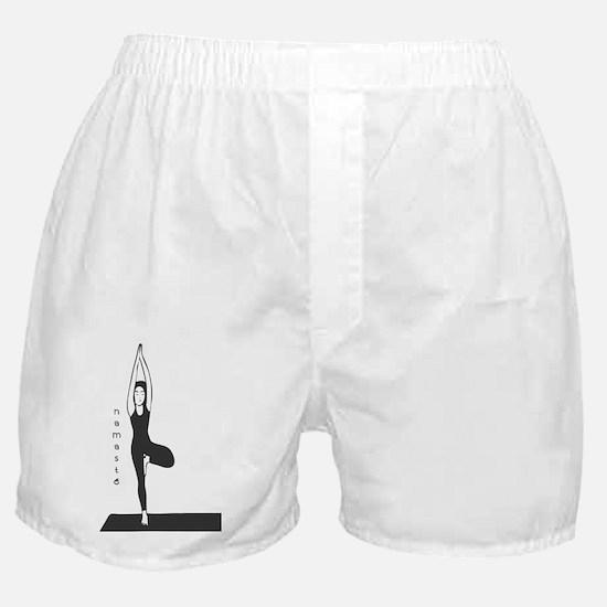 Stylized Yogini Boxer Shorts