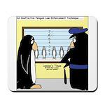 Penguin Police Lineup Mousepad