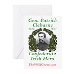 Patrick Cleburne Greeting Cards (pk Of 10)