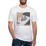 Pavlovs Dog Begging Fitted T-Shirt