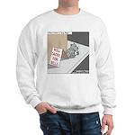 Pavlovs Dog Begging Sweatshirt