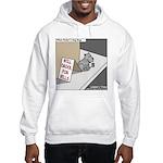 Pavlovs Dog Begging Hooded Sweatshirt