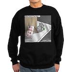 Pavlovs Dog Begging Sweatshirt (dark)