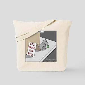 Pavlovs Dog Begging Tote Bag