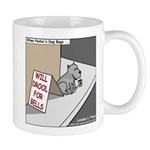 Pavlovs Dog Begging Mug