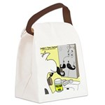 Moostache Wax Canvas Lunch Bag