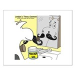 Moostache Wax Small Poster