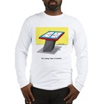 Leaning Tower of Pizza Long Sleeve T-Shirt