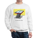 Leaning Tower of Pizza Sweatshirt