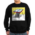 Leaning Tower of Pizza Sweatshirt (dark)