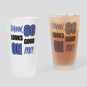 Funny 60th Birthday (Damn) Drinking Glass