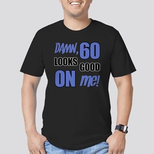 Funny 60th Birthday (D Men's Fitted T-Shirt (dark)