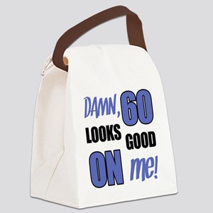 Funny 60th Birthday (Damn) Canvas Lunch Bag