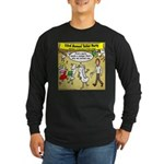 Party Pooper Long Sleeve Dark T-Shirt