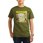 Party Pooper Organic Men's T-Shirt (dark)