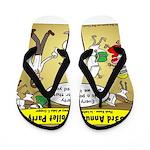 Party Pooper Flip Flops
