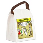 Party Pooper Canvas Lunch Bag