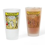 Party Pooper Drinking Glass