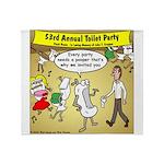 Party Pooper Throw Blanket
