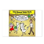 Party Pooper Postcards (Package of 8)