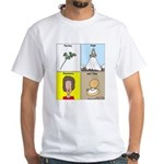Parsley, Sage, Rosemary and Time White T-Shirt