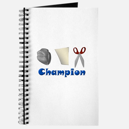 Rock Paper Scissor Champ Journal