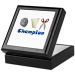 Rock Paper Scissor Champ Keepsake Box