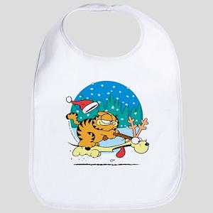 Odie Reindeer Bib