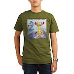 Strength in Numbers Organic Men's T-Shirt (dark)