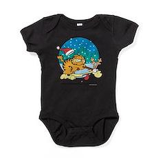 Odie Reindeer Baby Bodysuit