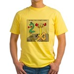 Strength in Numbers Yellow T-Shirt