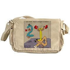 Strength in Numbers Messenger Bag