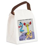 Strength in Numbers Canvas Lunch Bag