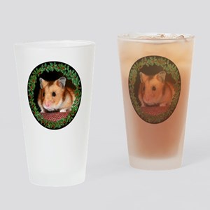 RoundHamster6 Drinking Glass