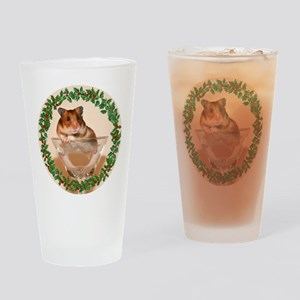 RoundHamster5 Drinking Glass