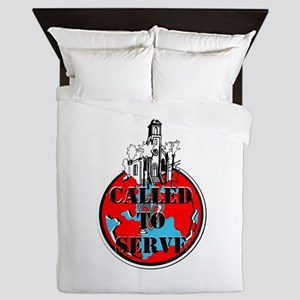Called To Serve Queen Duvet