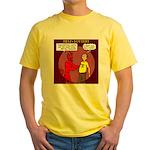Hells Lottery Yellow T-Shirt