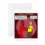 Hells Lottery Greeting Cards (Pk of 20)