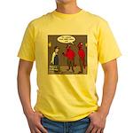 Hell AC Repair Yellow T-Shirt