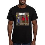 Hell AC Repair Men's Fitted T-Shirt (dark)