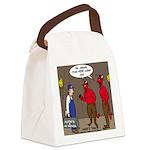 Hell AC Repair Canvas Lunch Bag