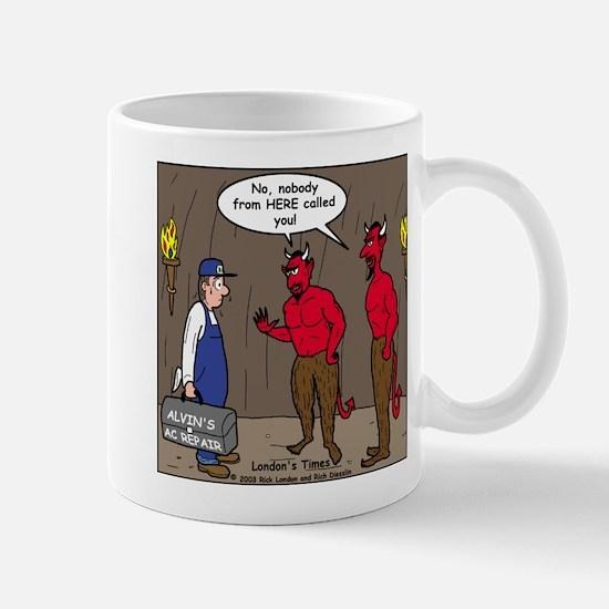 Hell AC Repair Mug