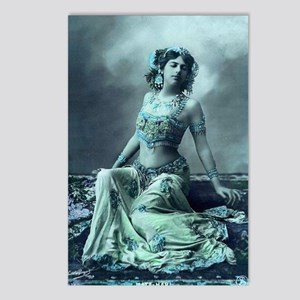 Vintage Bellydance Wall C Postcards (Package of 8)