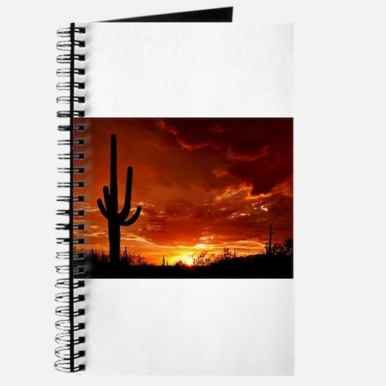 Saguaro Sunset-2 Journal