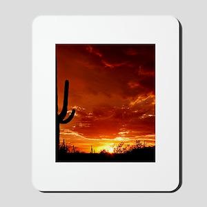 Saguaro Sunset-2 Mousepad